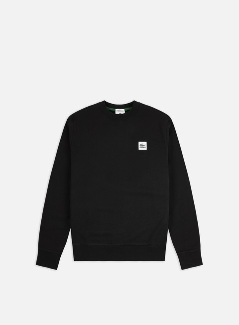 Crewneck Sweatshirts Lacoste Live Crocodile Patch Crewneck