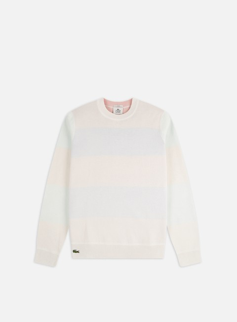 Lacoste Live Striped Double Face Jersey Sweater