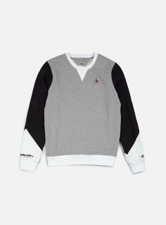 Le Coq Sportif - Dynactif N. 2 Crewneck, Light Heather 1