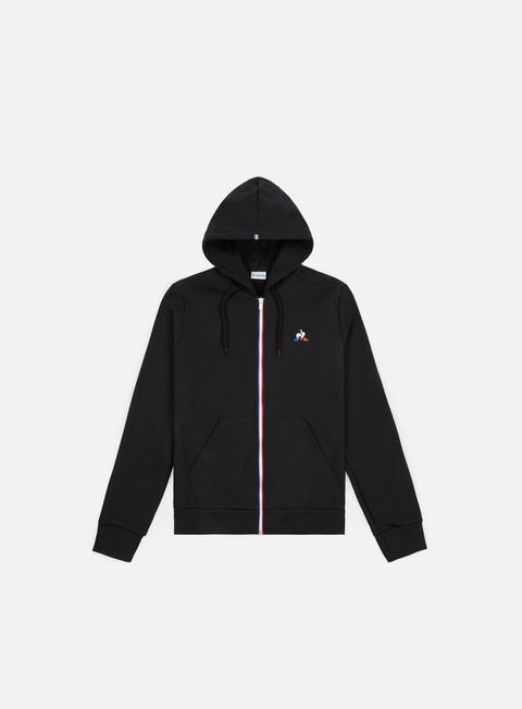 felpe le coq sportif ess fz n 1 hoodie black