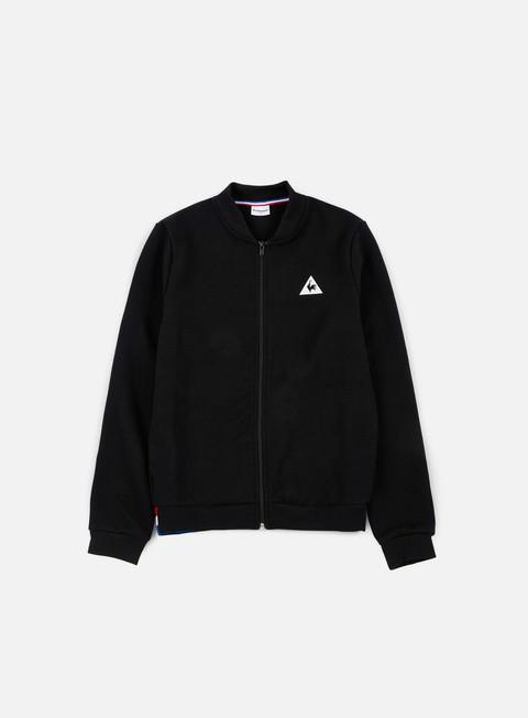 felpe le coq sportif tricolore bbr fz sweatshirt black