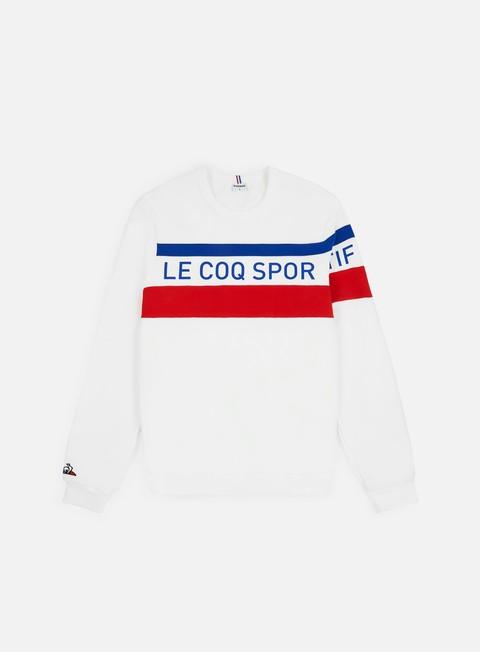 Outlet e Saldi Felpe Girocollo Le Coq Sportif Tricolore N5 Crewneck