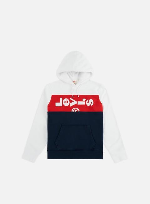 Hooded Sweatshirts Levi's L Tab Panel Hoodie