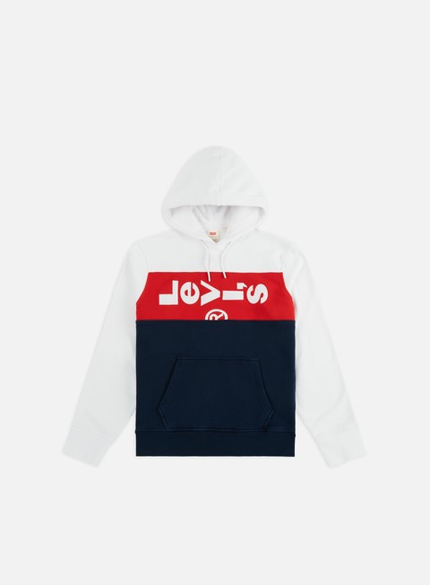 Logo Sweatshirts Levi's L Tab Panel Hoodie
