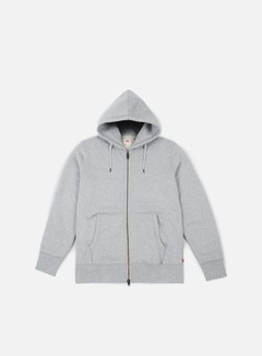 Levi's - Original Zip Up Hoodie 2, Medium Grey Heather