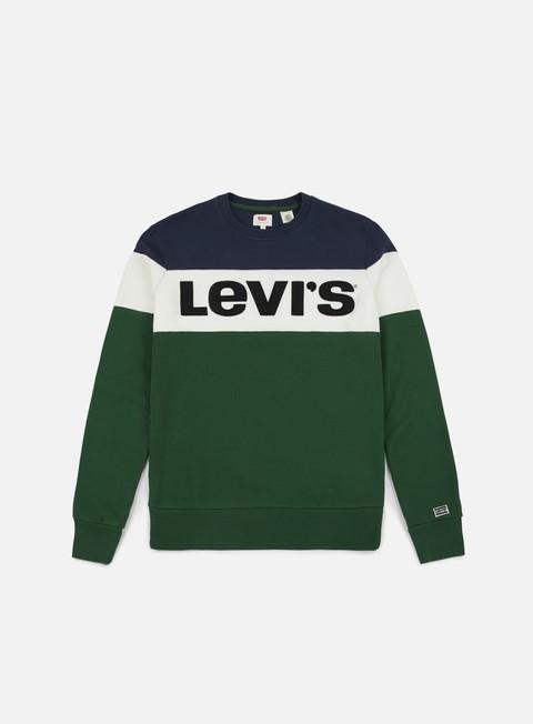 Outlet e Saldi Felpe Girocollo Levi's Sportswear Colorblock Crewneck