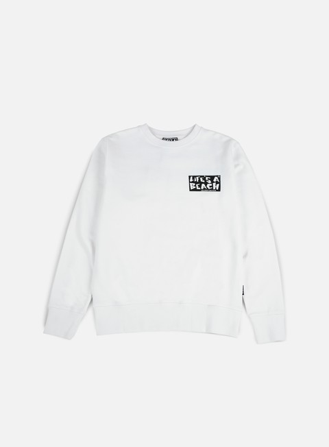 Sale Outlet Crewneck Sweatshirts Life's a Beach Logo Crewneck
