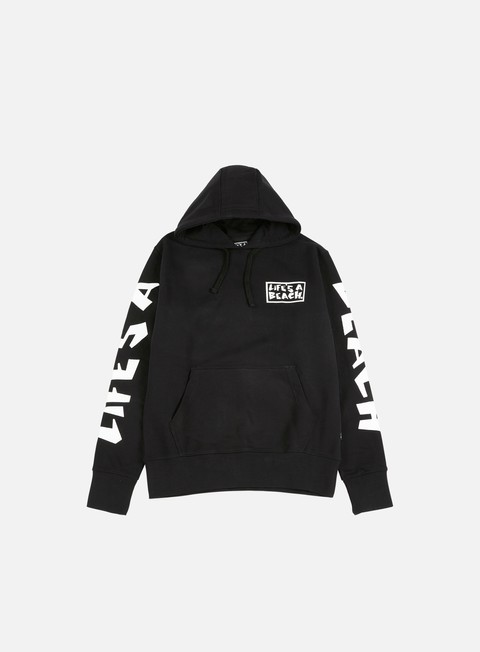 Sale Outlet Hooded Sweatshirts Life's a Beach Logo Hoodie