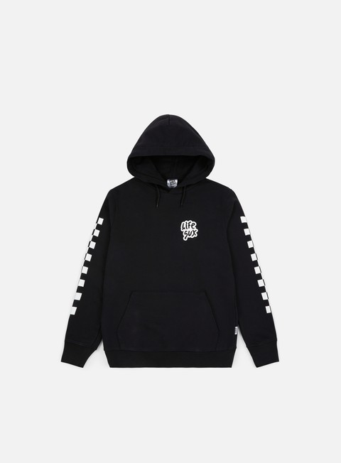 Sale Outlet Hooded Sweatshirts Life Sux Check Hoodie