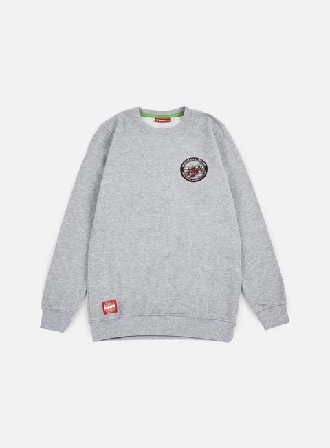 felpe lobster always crewneck athletic grey
