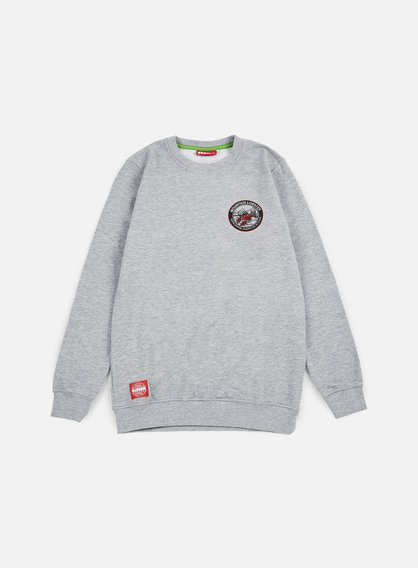 Lobster - Always Crewneck, Athletic Grey