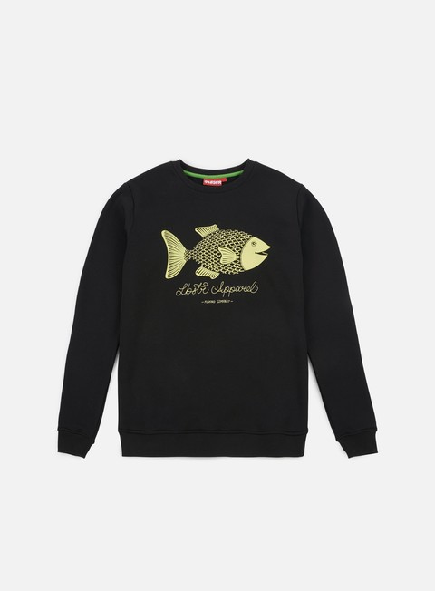 felpe lobster amo crewneck black