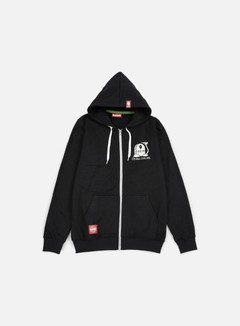 Lobster - Chilling Zip Hoodie, Black 1