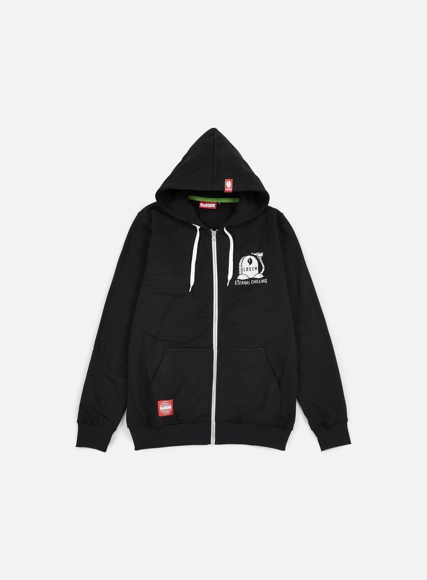 Lobster - Chilling Zip Hoodie, Black
