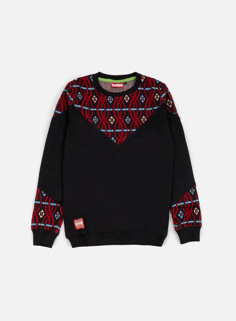 felpe lobster club crewneck black