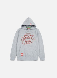 Lobster - Corsivo Hoodie, Athletic Grey