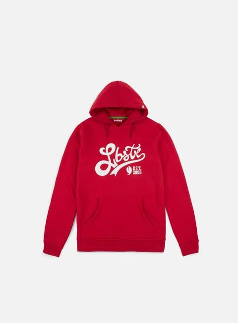felpe lobster curve hoodie red