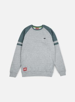Lobster - Fence Crewneck, Athletic Grey/Midnight 1