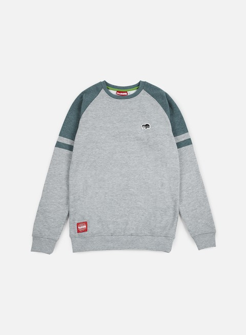 felpe lobster fence crewneck athletic grey midnight