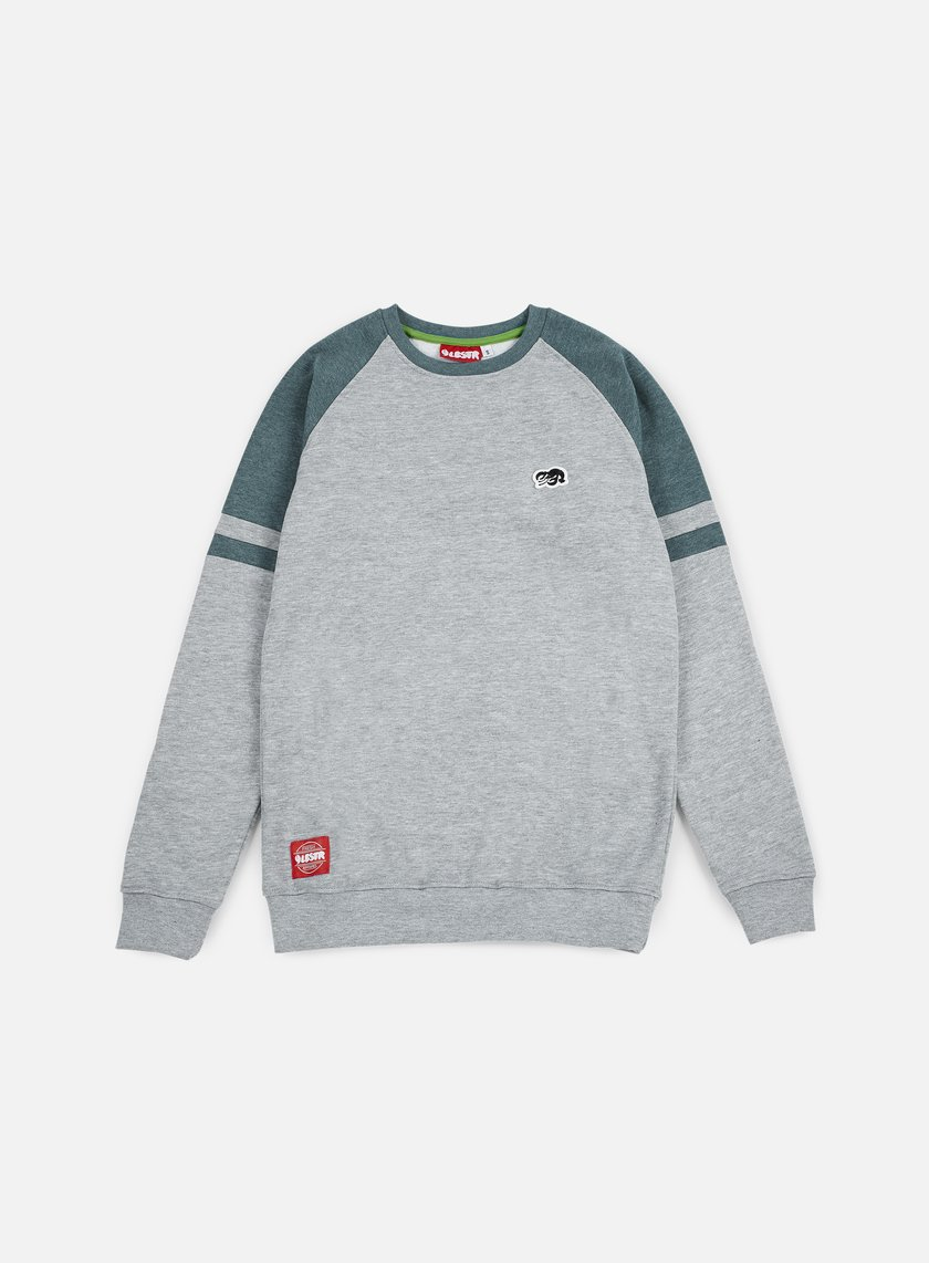 Lobster - Fence Crewneck, Athletic Grey/Midnight