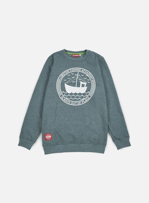 felpe lobster fishing crewneck midnight