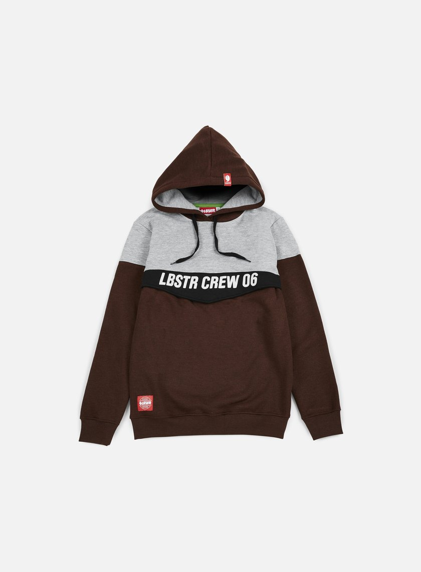 Lobster - Flap hoodie, Athletic Grey/Russet