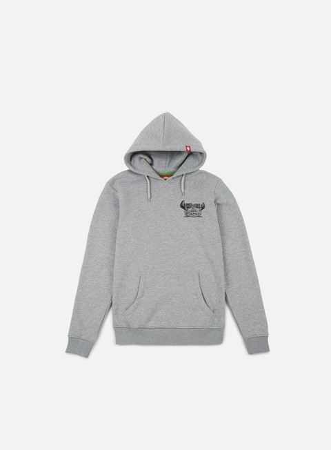 felpe lobster frog hoodie mid grey
