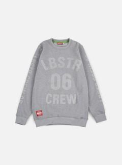Lobster - Full Crewneck, Athletic Grey 1
