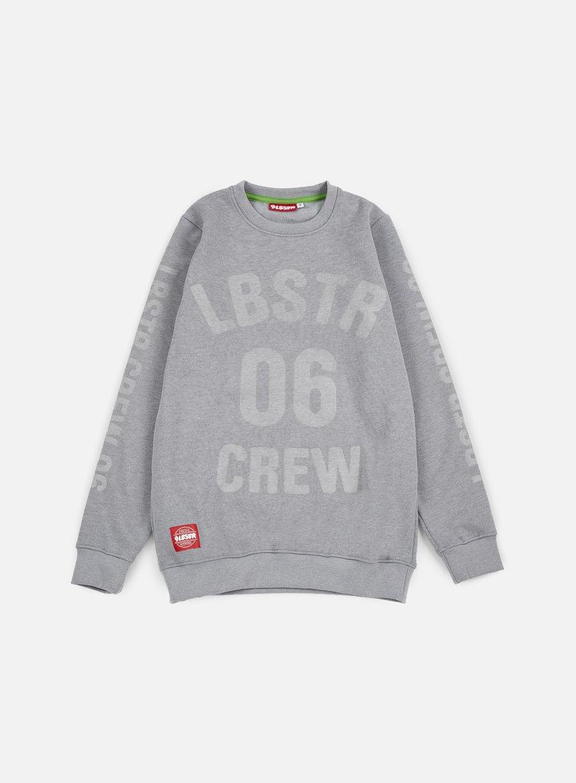 Lobster - Full Crewneck, Athletic Grey