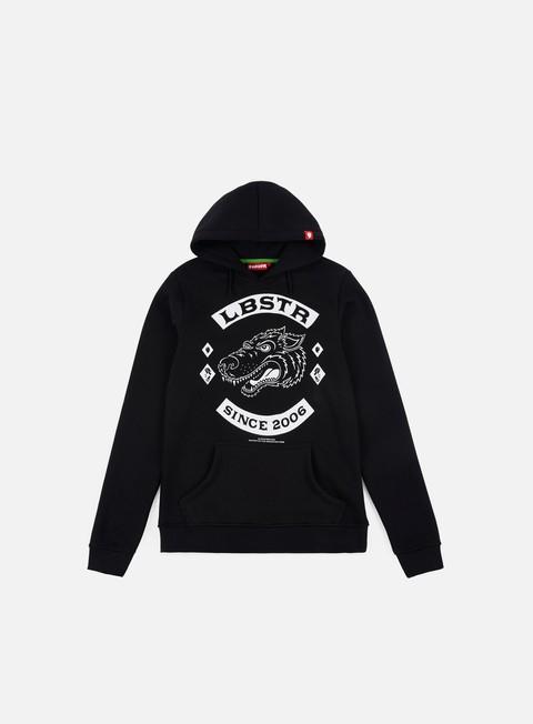 felpe lobster gear hoodie black