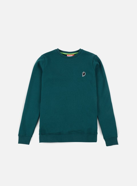 felpe lobster little crewneck dark green