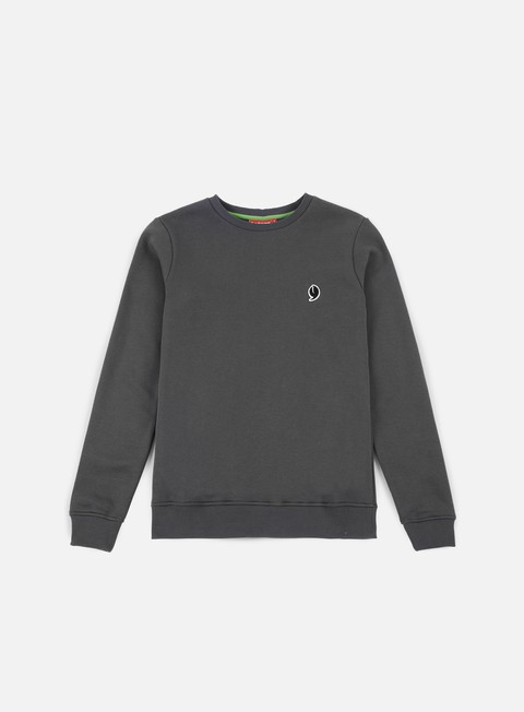 felpe lobster little crewneck dark grey