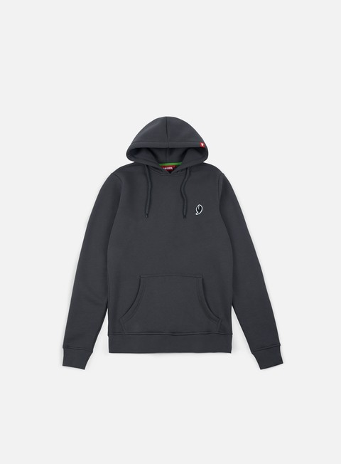 felpe lobster little hoodie dark grey