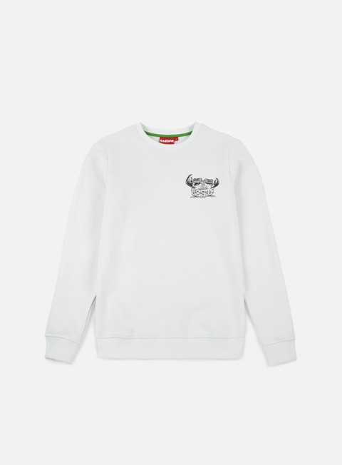 felpe lobster lobtoad crewneck white