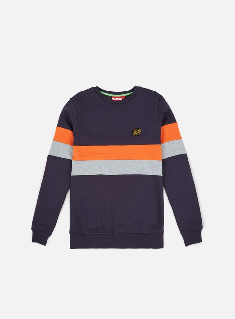 felpe lobster mubber crewneck dark grey