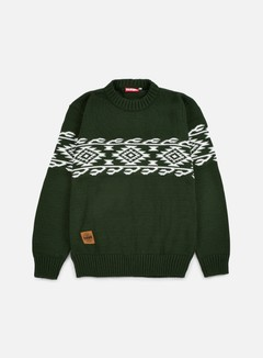 Lobster - Nachos Sweater, Green Tones 1