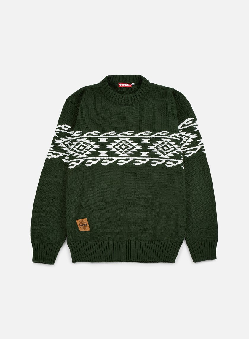 Lobster - Nachos Sweater, Green Tones