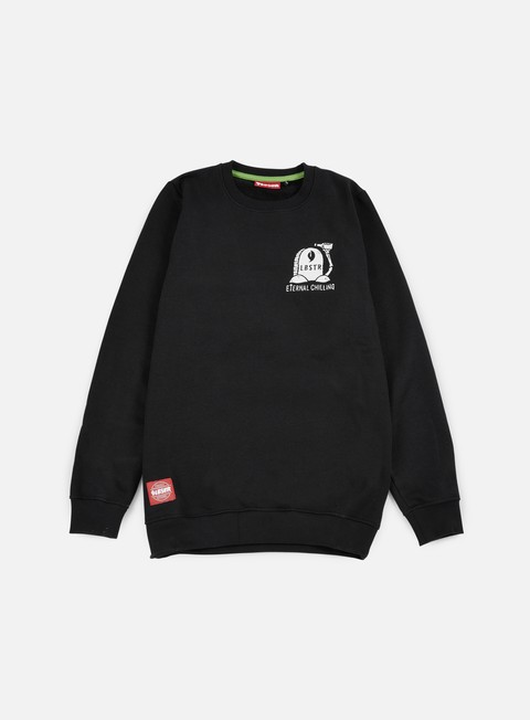 felpe lobster rip crewneck black