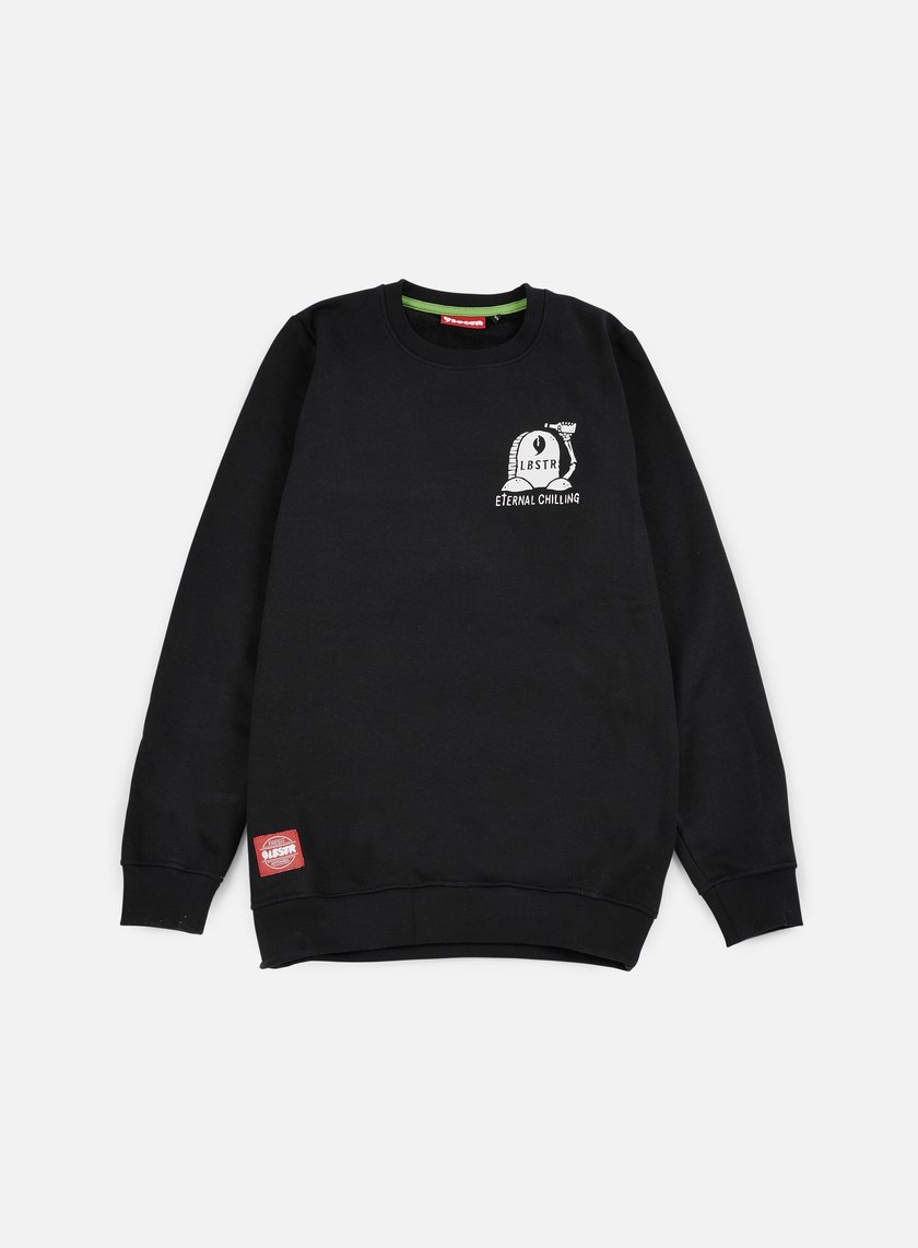 Lobster - Rip Crewneck, Black