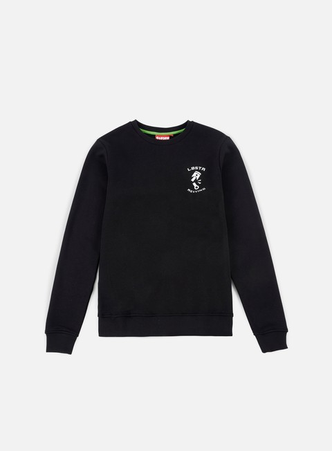 felpe lobster road crewneck black