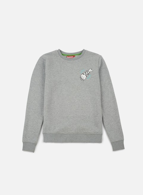 felpe lobster tiger crewneck mid grey