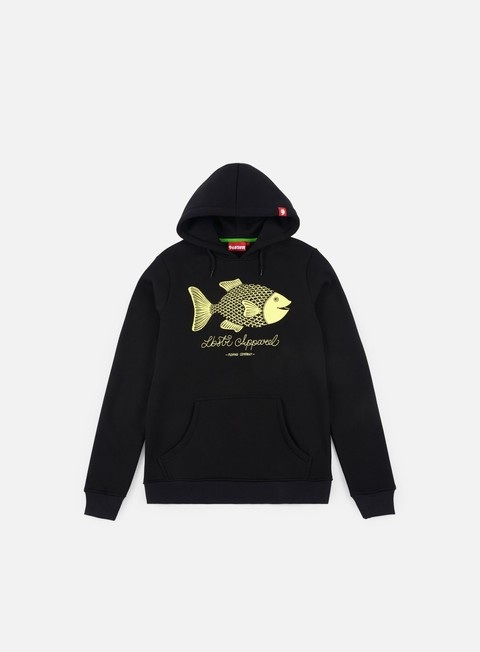 felpe lobster tuna fish hoodie black