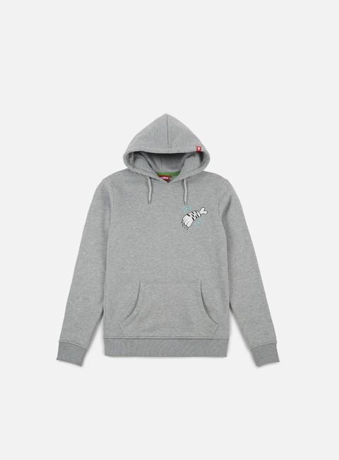 felpe lobster zampa hoodie mid grey