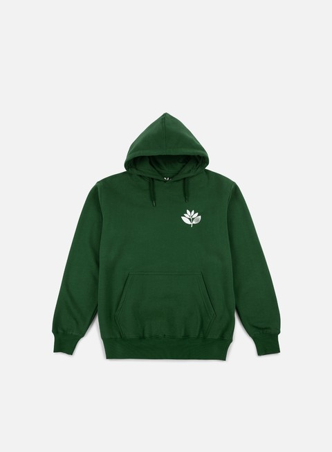 felpe magenta classic hoodie forest green