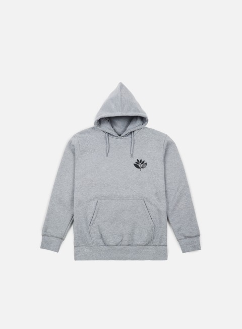 felpe magenta classic hoodie heather grey