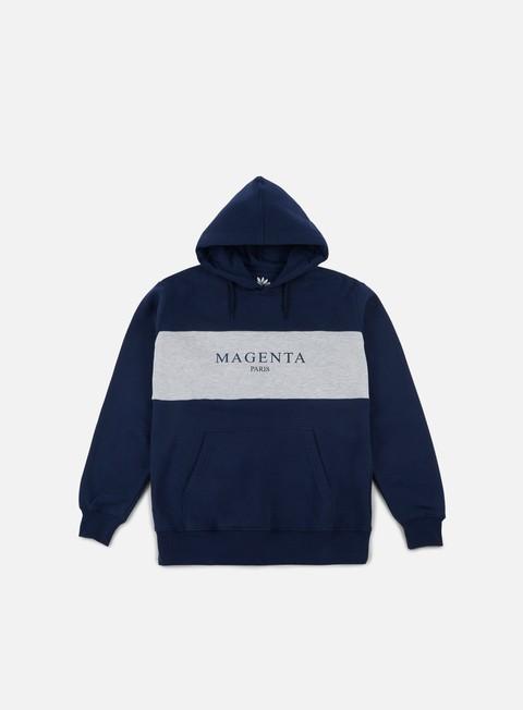 felpe magenta paris hoodie navy