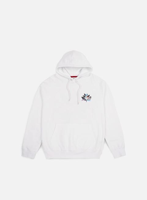 felpe magenta parrot hoodie white