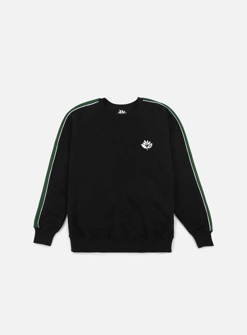felpe magenta team crewneck black