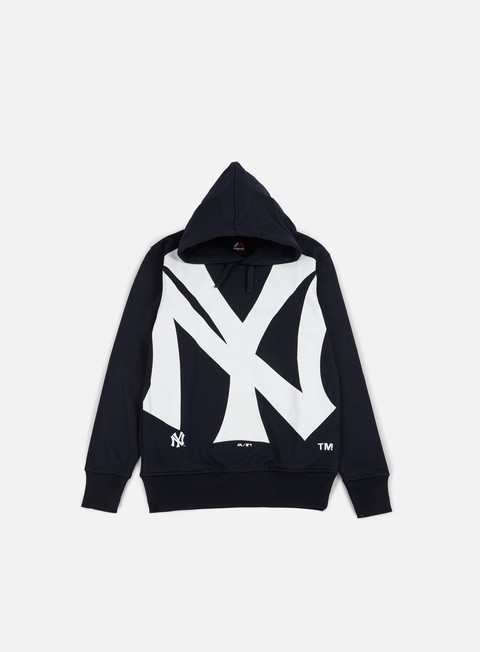felpe majestic bater loopback oth hoody ny yankees navy