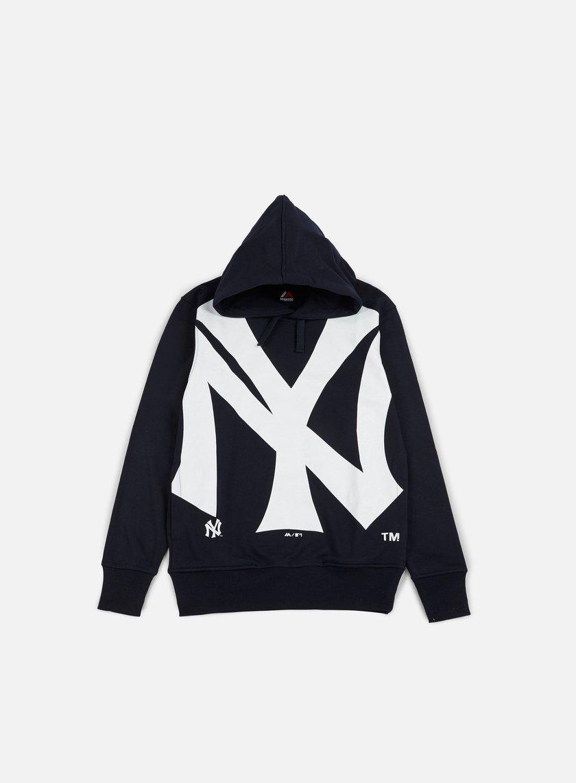 Majestic - Bater Loopback OTH Hoody NY Yankees, Navy